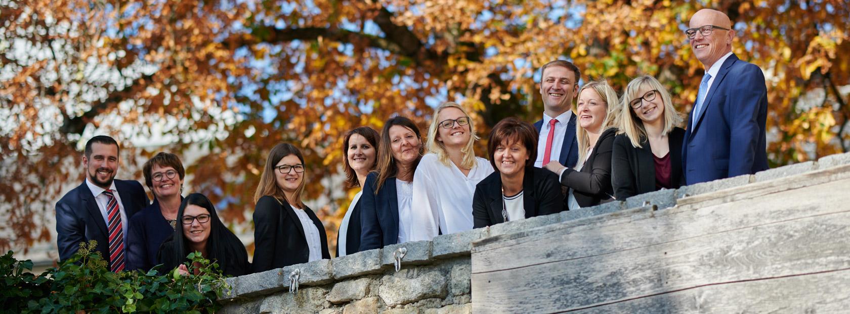 Team von Rechtsanwälte Raffaseder Haider Freistadt